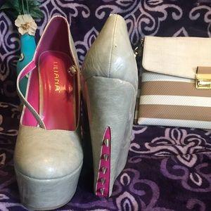 Beautiful Liliana Platform Shoes